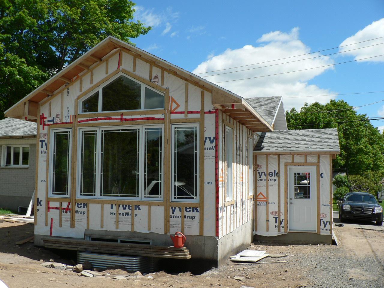 agrandissement de maison � construction fran231ois bouliane