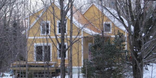 Agrandissement de maison ancestrale construction for Agrandissement maison loi